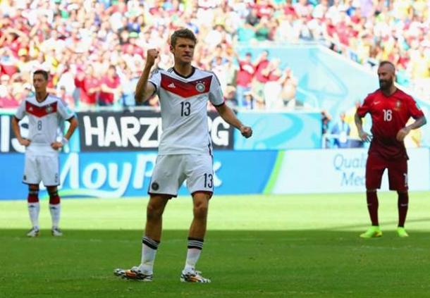 Mario Gotze Puji Penampilan Thomas Muller