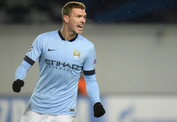 Dengan Kinerja Manchester City Di Eropa Edin Dzeko Heran