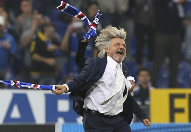 Pimpinan Sampdoria Sebut Banyak Yang Tak Suka Dengan Kami